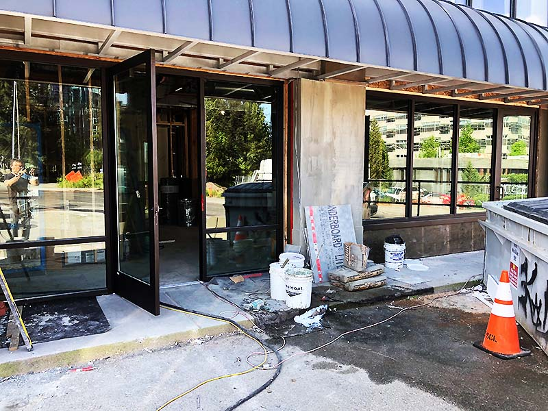 SEATTLE COMMERCIAL ROOM EXTERIOR IMPROVEMENTS