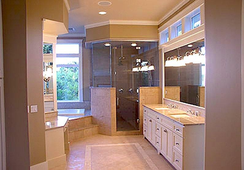 Lake Washington Custom Home bathroom remodeling