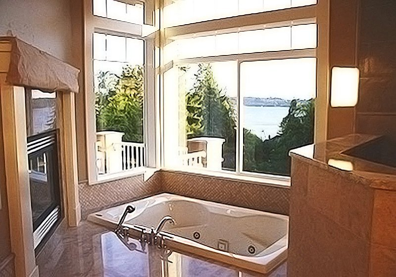 Bellevue home bath and shower remodel