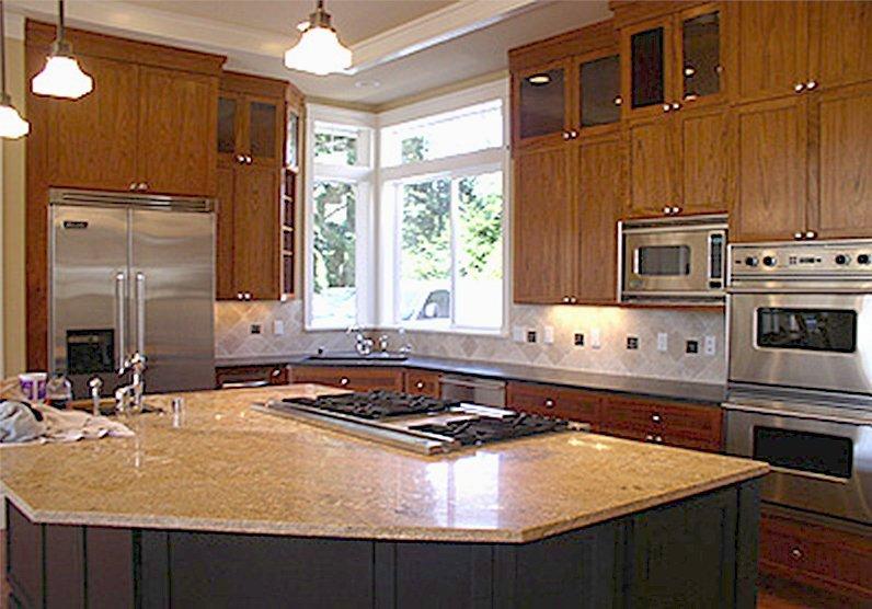 Lake Washington Home kitchen remodeling