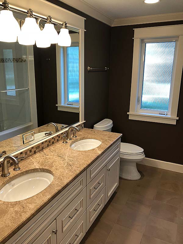 EDMONDS,WA. CUSTOM DESIGNER BATH