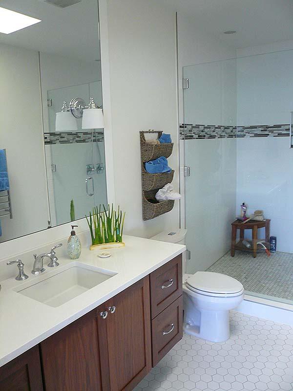 Langley, WA. Custom bathroom designs