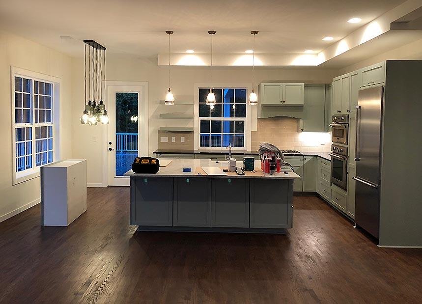 Langley, WA. Custom kitchen