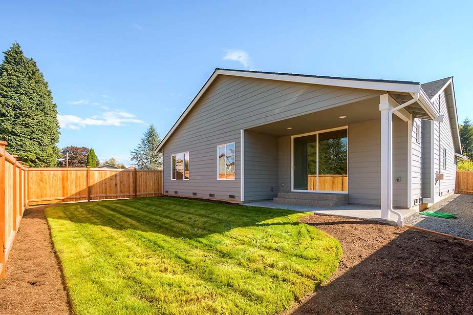 Monroe Custom Home Fully Fenced Rear Yard