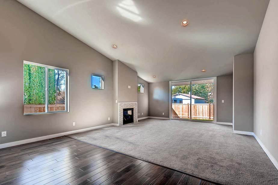 Monroe Custom Home custom living room