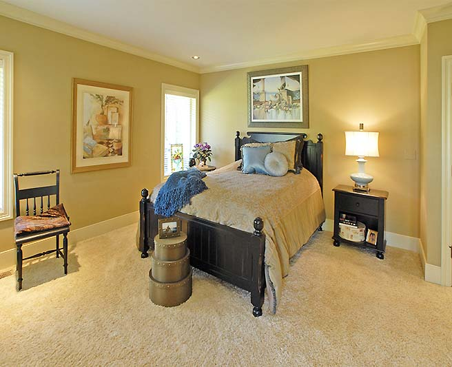 Woodway, Wa custom home bedroom designs