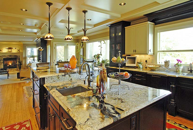 Woodway, Wa custom home gourmet Kitchen Remodeling