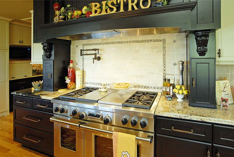 Woodway, Wa custom home gourmet Kitchen Remodeling and designs