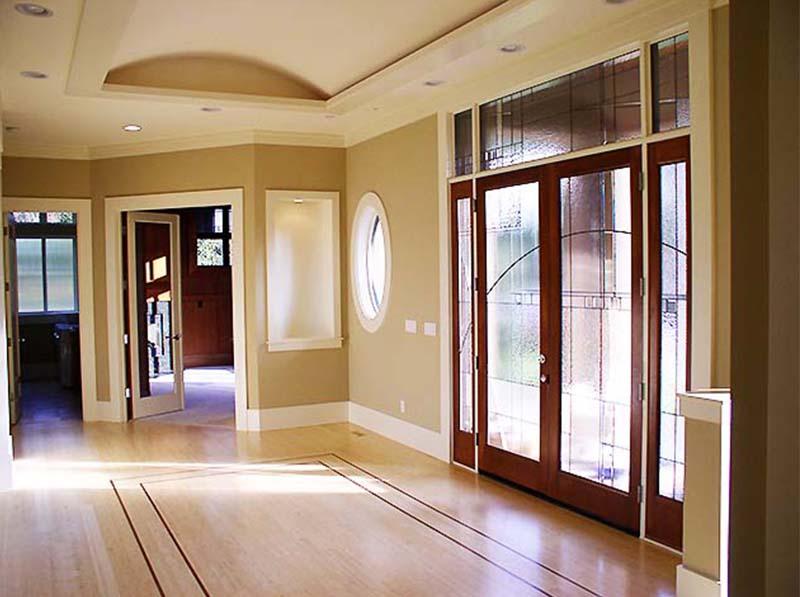 YARROW POINT custom home foyer