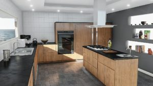 Bellevue, WA. Custom Kitchen Counter Tops and Kitchen Wall Tile Contractor - town construction and development