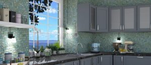Bellevue, WA. kitchen wall tiles and counter tops contractor - town construction and development