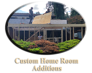 Custom Home Room Additions Bellevue, WA